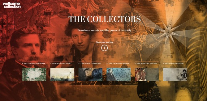 The Collectors home