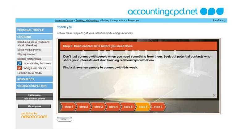 Social Media for Professionals screenshot4
