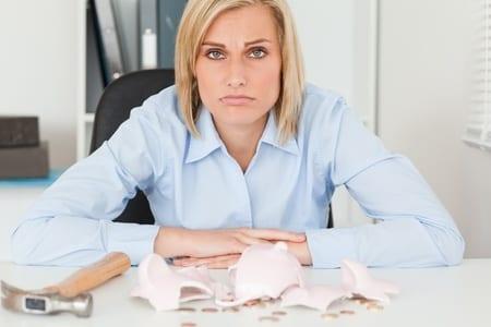 sad-women-piggy-bank
