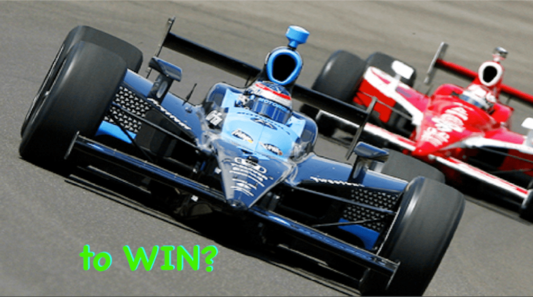 Indy Car - to WIN