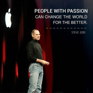 Steve Jobs on Passion for Open Innovation