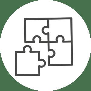 StrategicPlay erlebbar Puzzle Icon