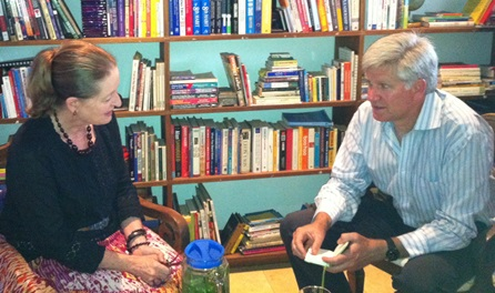 Brenda Eckstein and Mike Ward.