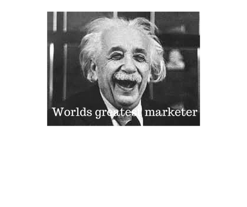 Worlds greatest marketer