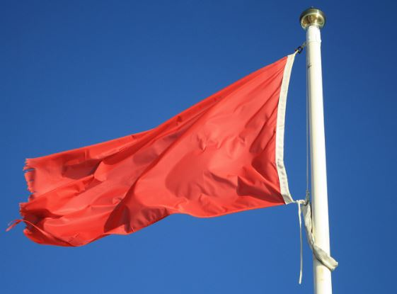 Red flags to business failure.
