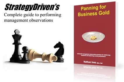 StrategyDriven Management Observation Book