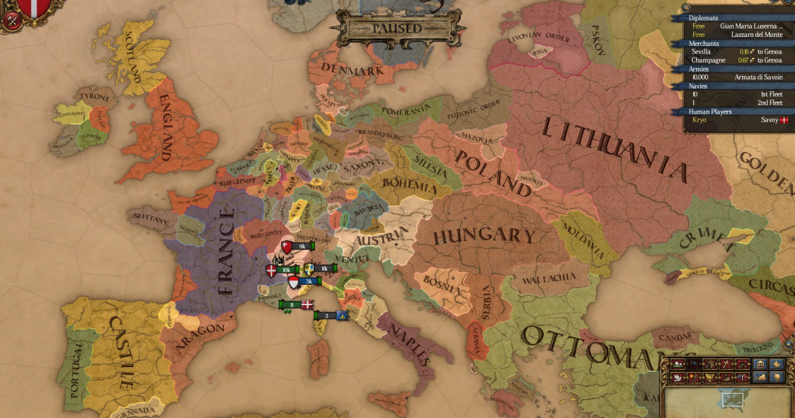 The Best Europa Universalis 4 Mods Strategy Gamer