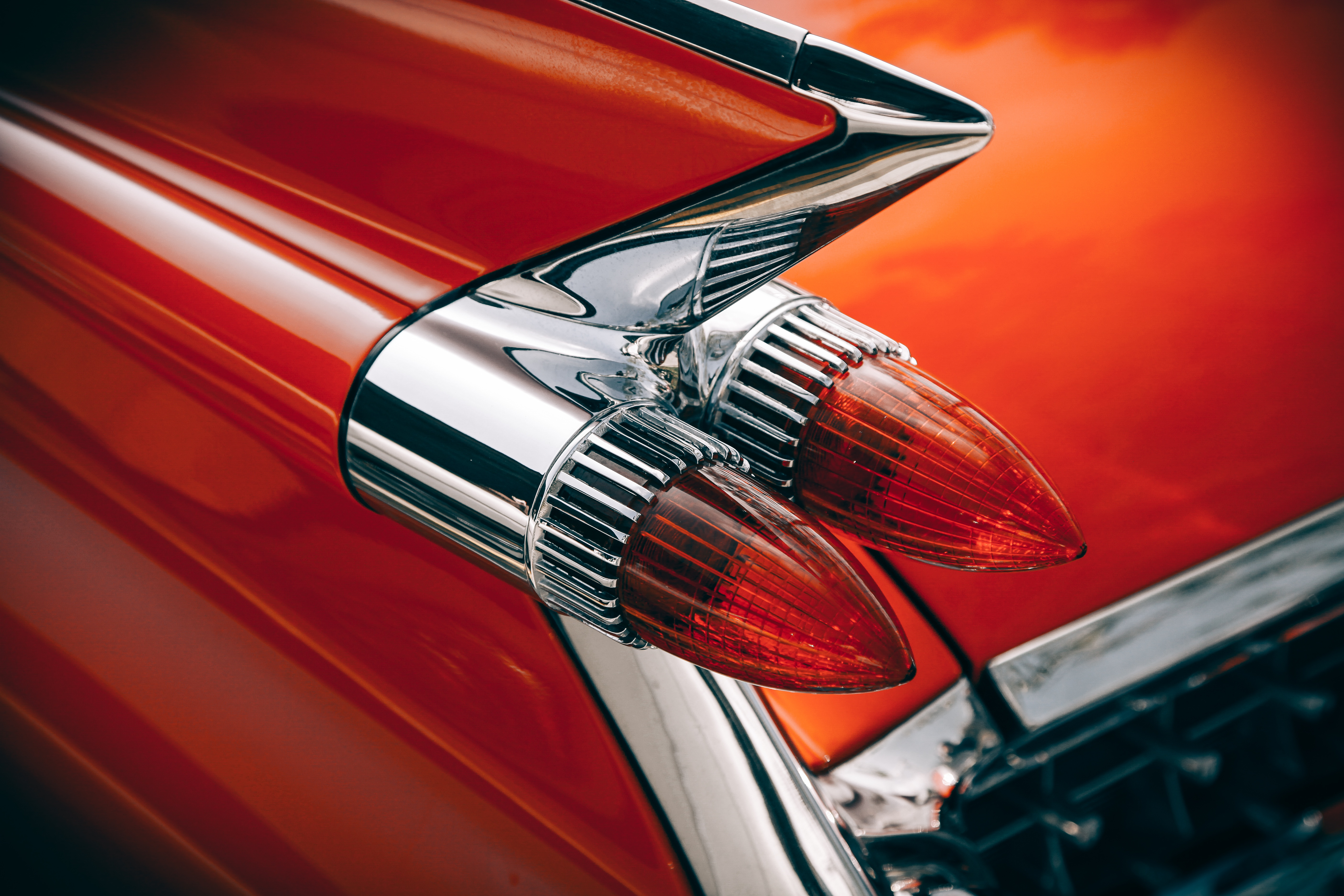 Inspiration for blog posts: Iconic automobile tail fins late 50s-early 60s cars