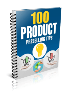 100 Hot Pre-Selling Tips Report image