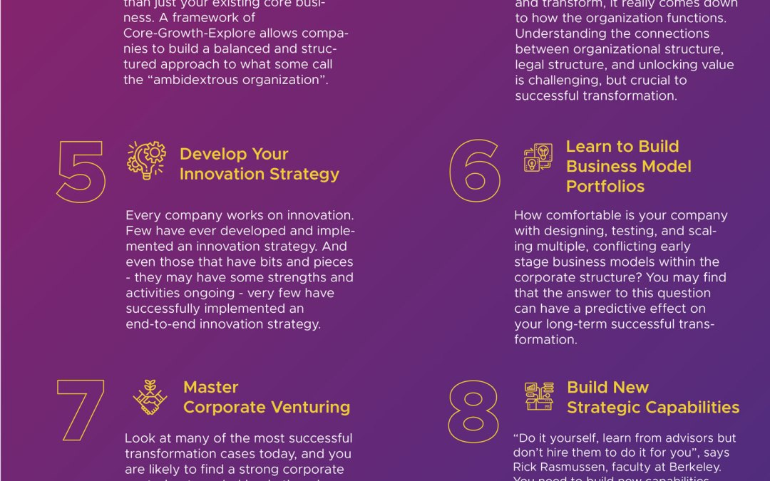 The 10 Principles of Transformation: An Infographic