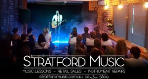 live music stratford music bryce sainty performing