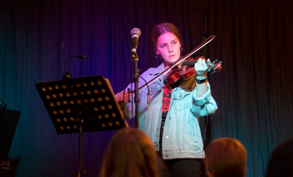 Violin concert stratford music open day august 2018