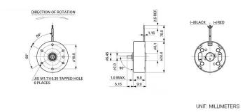 9mm CD motor Specifications