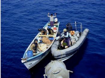 Apprehension of Sri Lankan vessel by INS Nirbhik
