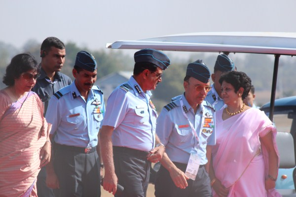 Air Chief Marshal NAK Browne at Aero India 2013 | Photo: StratPost
