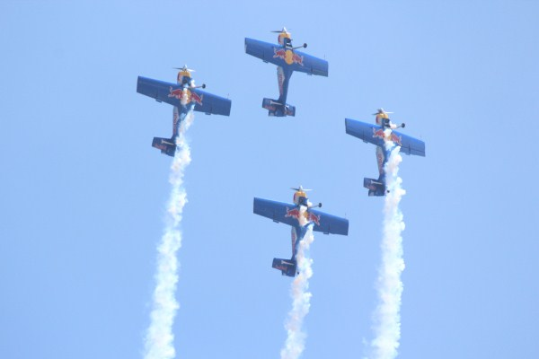 The Czech Flying Bulls aerobatic team | Photo: StratPost