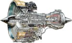 Cutaway of the Trent 700 engine | Copyright: Rolls Royce