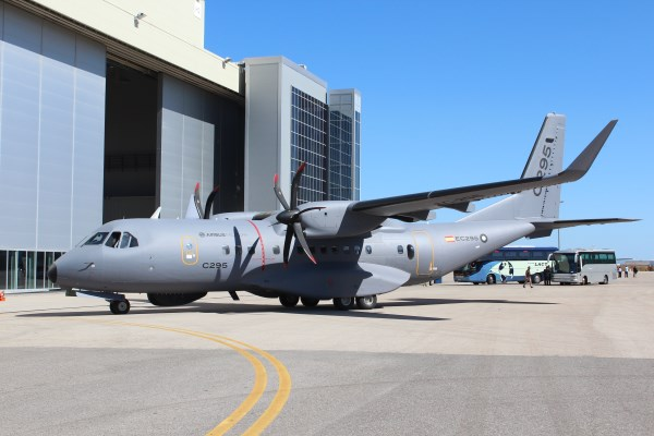 An Airbus C-295 aircraft at Seville, Spain in May 2013. | Photo: StratPost