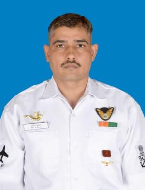 Anil Kumar, POA (Aircrew Man Diver) | Photo: Indian Navy