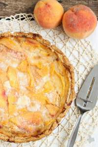 Peach Pie | Strawberry Blondie Kitchen