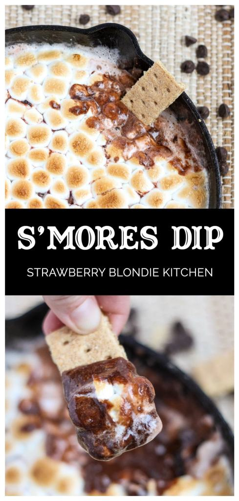 S'mores Dip| Strawberry Blondie Kitchen