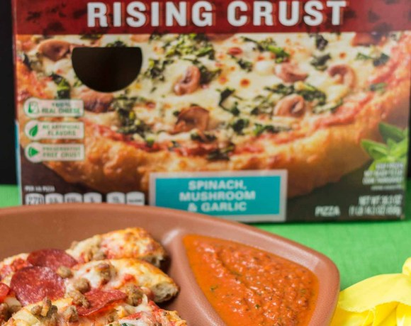 Tailgate At Home with DIGIORNO® pizza and Homemade Dipping Sauces