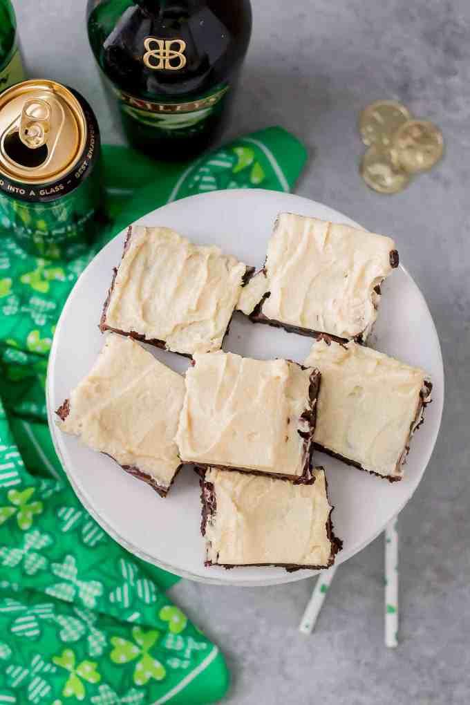 Irish Car Bombs Brownies