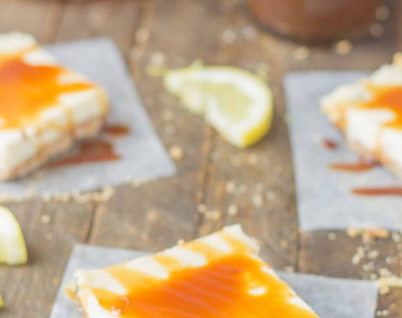 Arnold Palmer Cheesecake Bars