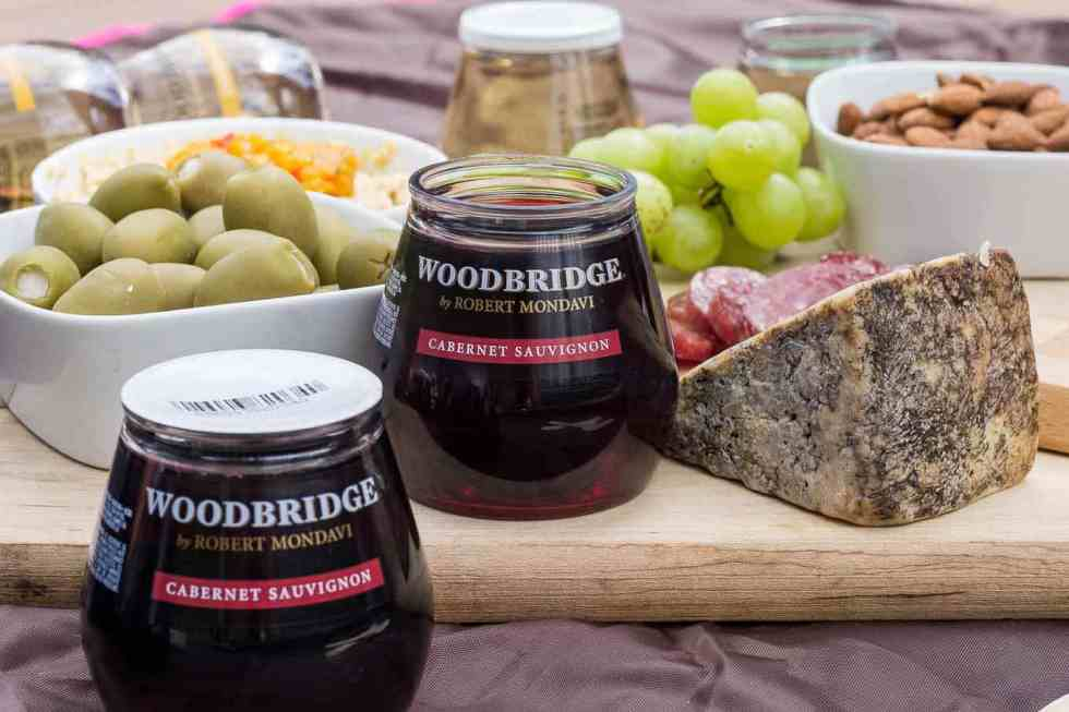 Dark chocolate and sweet cherries pair perfectly with Cabernet Sauvignon and complement each other harmoniously to bring an elegant dessert to any outdoor experience. Mini Chocolate Mason Jars with Cherry Jam are the perfect way to end your romantic picnic on a sweet note.   Strawberry Blondie Kitchen