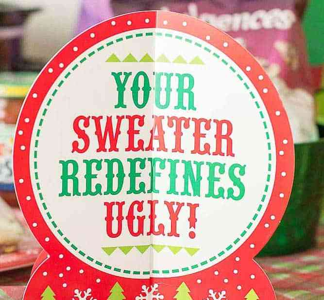 Ever wonder How to Throw an Ugly Sweater Party? I'm here to help with all the delicious foods, tasty beverages and the cheesiest decorations you can find!   Strawberry Blondie Kitchen