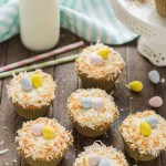 Pineapple Carrot Cake Cupcakes are deliciously moist and the perfect way to celebrate Spring! | Strawberry Blondie Kitchen