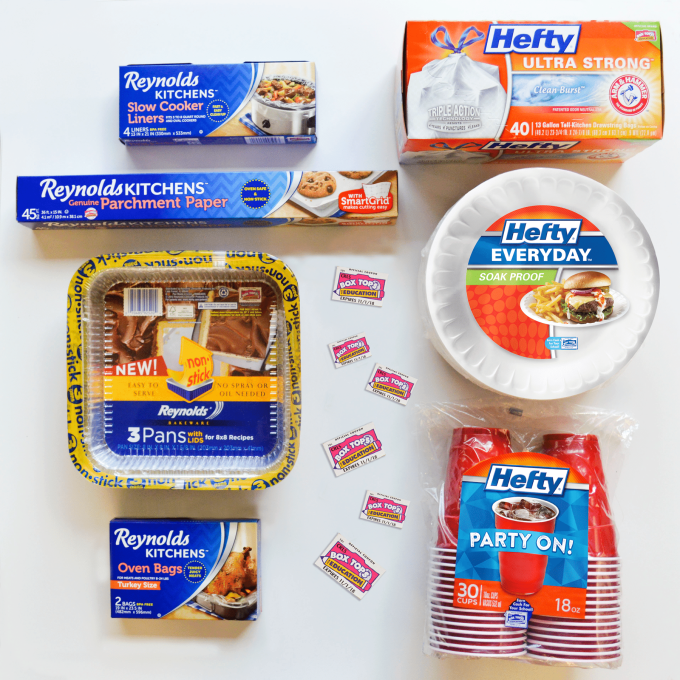 Learn how you can useBox Tops for Education and give back to your school through purchasing select items such asReynolds Kitchens and Hefty products which raises money for supplies, technology and more. | Strawberry Blondie Kitchen