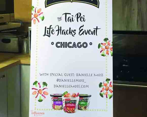 Life Hacks with Tai Pei Foods and Danielle Moss