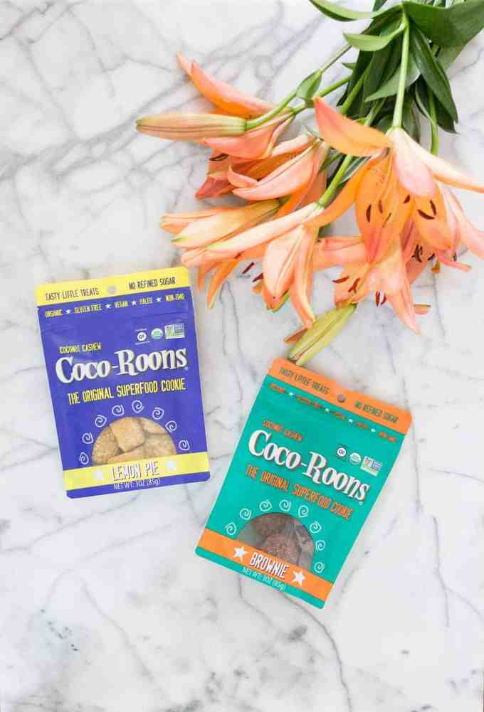 Delightful Snacking with Coco-Roons is healthy, delicious and exactly what you need to satisfy your sweet tooth.  These cookies are the original superfood cookie!  They're organic, gluten free, vegan and paleo so what are you waiting for?!
