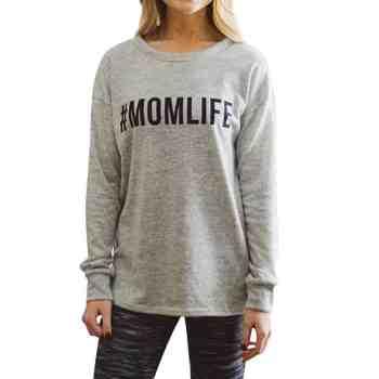 holiday gift guide #momlife sweatshirt