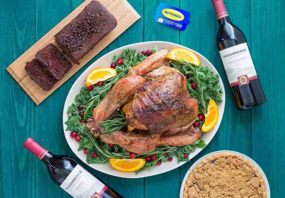 Thanksgiving doesn't have to be intimidating.  With a few tips, tricks and this delicious Rosemary and Orange Roasted Turkey, I've got your back this Turkey day! | Strawberry Blondie Kitchen