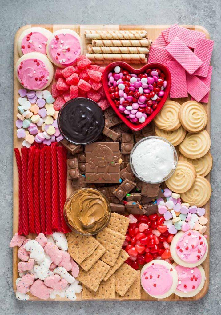 Galentine's Day Dessert Charcuterie Board