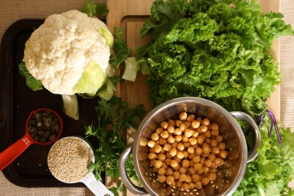 Cauliflower & Quinoa Salad