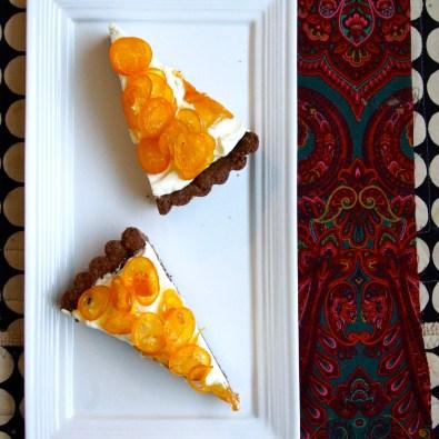Candied Kumquat Tart