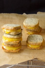 Earl Grey Tea & Lemon Curd Shortbread Sandwich Cookies