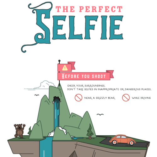 Put Your Best Face Forward With This Mermaid Inspired Infographic | Strawberry Squeeze
