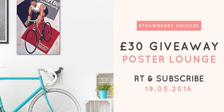 Brighten up your home: Win £30 to spend at Poster Lounge | UK Lifestyle Blog