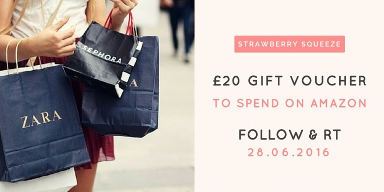 Treat yourself: Win 1 x £20 voucher to spend on Amazon | UK Lifestyle Blog