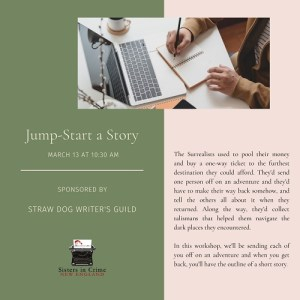 Jumpstart a Story flyer