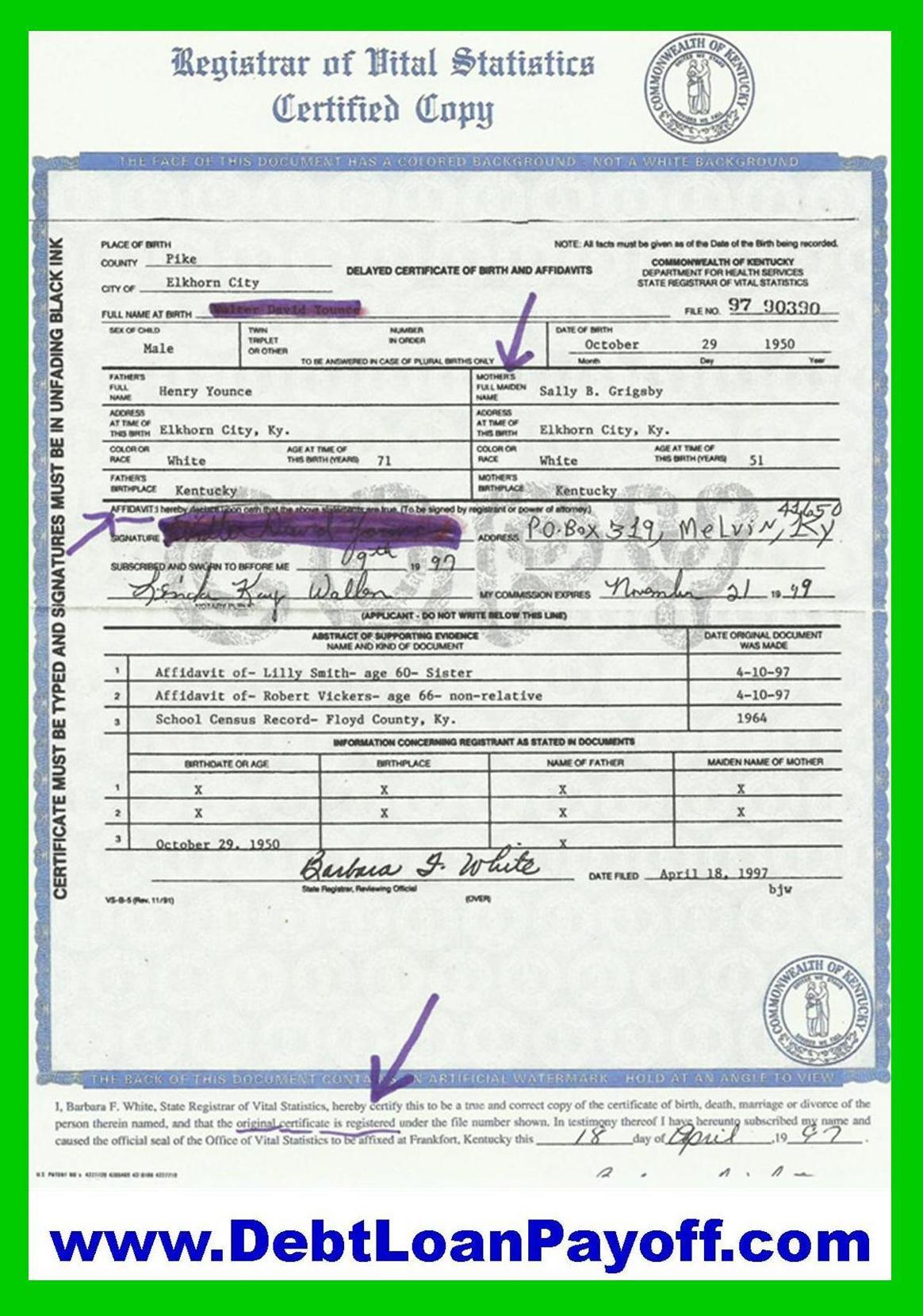 Your Birth Certificate Bond Is Worth Billions Strawman