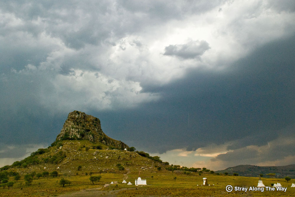 isandlwana in the rain