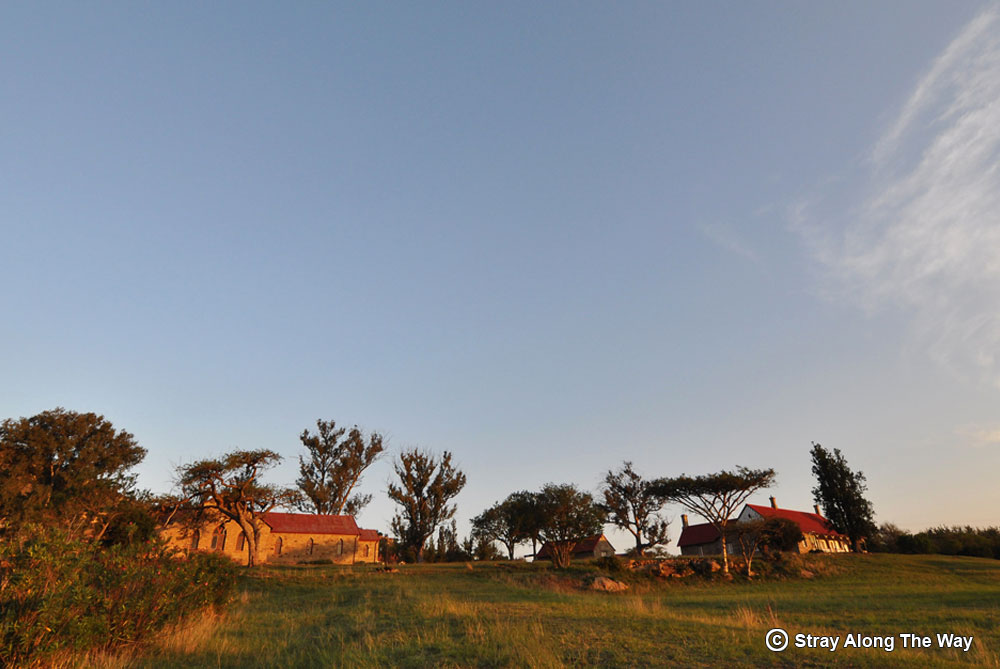 The storehouse and hospital at Rorke's Drift