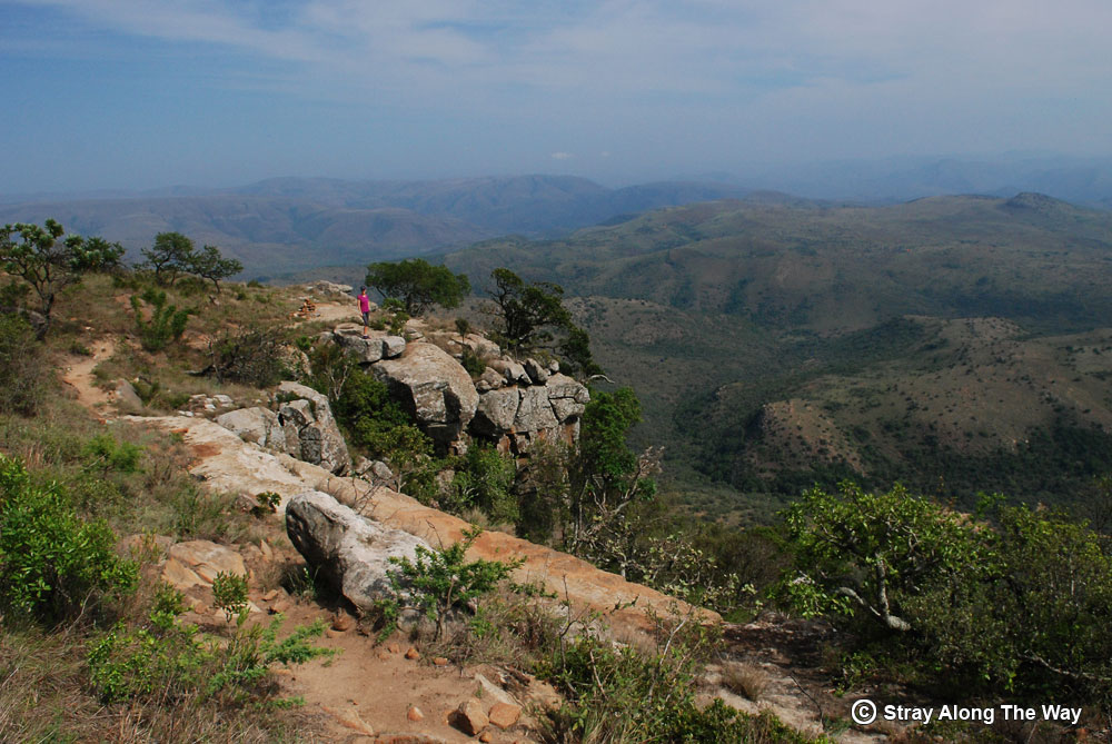View from the Ngotshe Mountain in Ithala Game Reserve