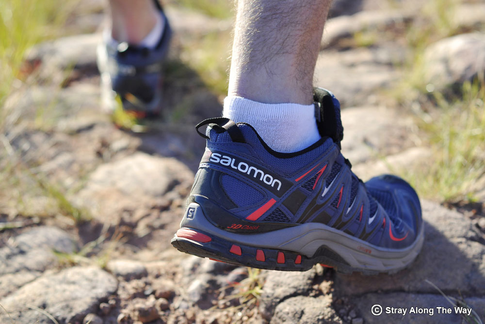 Hitting the trails with Salomon