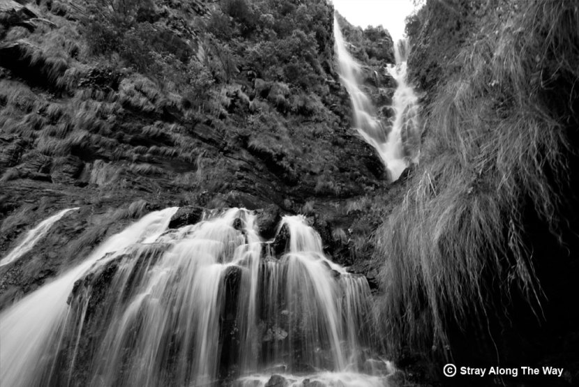 Lisbon Falls Black and White